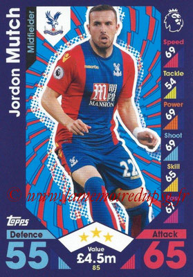 2016-17 - Topps Match Attax Premier League - N° 085