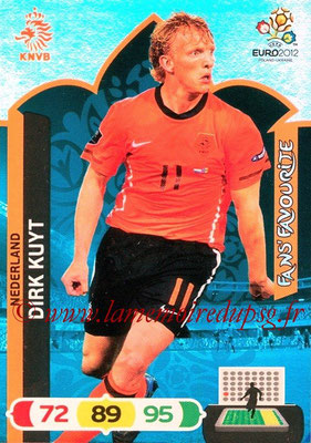 Panini Euro 2012 Cards Adrenalyn XL - N° 263 - Dirk KUYT (Pays-Bas) (Fans' Favourite)