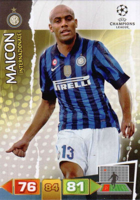 2011-12 - Panini Champions League Cards - N° 110 - MAICON (Inter Milan)