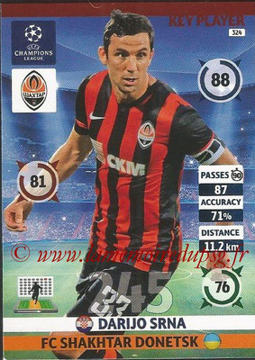 2014-15 - Adrenalyn XL champions League N° 324 - Darijo SRNA (FC Shakhtar Donetsk) (Key Player)