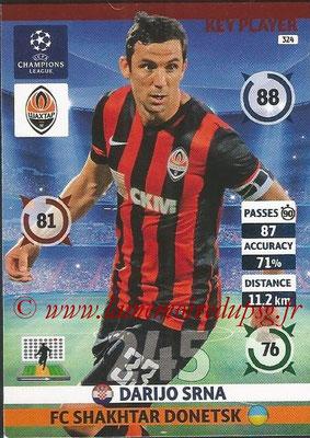2014-15 - Adrenalyn XL champions League N° 324 - Darijo SRNA (FC Shakhtar Donetsk) (Key Player)