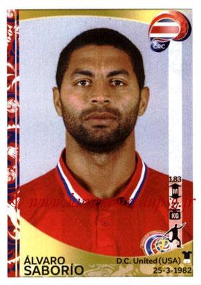 Panini Copa America Centenario USA 2016 Stickers - N° 085 - Alvaro SABORIO (Costa Rica)