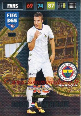 2016-17 - Panini Adrenalyn XL FIFA 365 - N° 417 - Robin VAN PERSIE (Fenerbahçe SK) (Veteran)