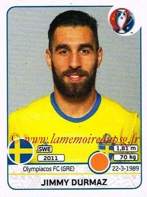 Panini Euro 2016 Stickers - N° 557 - Jimmy DURMAZ (Suède)