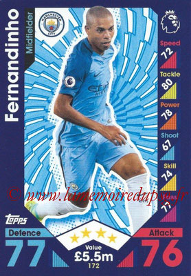 2016-17 - Topps Match Attax Premier League - N° 172
