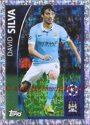 2015-16 - Topps UEFA Champions League Stickers - N° 578 - David SILVA (Manchester City FC) (Player to Watch)
