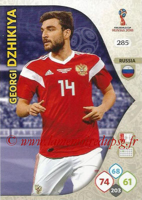 2018 - Panini FIFA World Cup Russia Adrenalyn XL - N° 285 - Georgi DZHIKIYA (Russie)