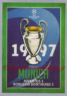2015-16 - Topps UEFA Champions League Stickers - N° 589 - UEFA Champions League Final 1996-97