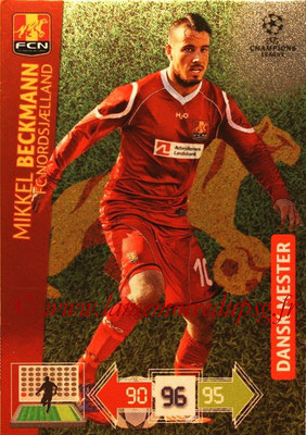 2012-13 - Adrenalyn XL champions League N° 365 - Mikel BECKMANN (FC Nordsjaelland) (Dansk Mester)