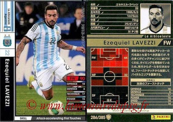 N° 286 - Ezequiel LAVEZZI (Argentine)