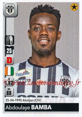 2018-19 - Panini Ligue 1 Stickers - N° 029 - Abdoulaye BAMBA (Angers)