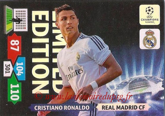 2013-14 - Adrenalyn XL champions League N° LE43 - Cristiano RONALDO (Real Madrid CF) (Limited Edition)
