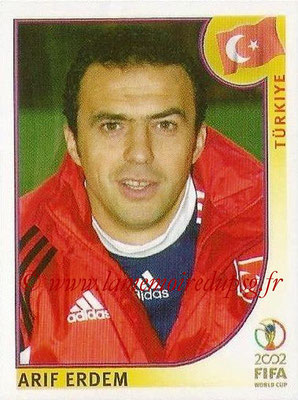 2002 - Panini FIFA World Cup Stickers - N° 203 - Arif ERDEM (Turquie)