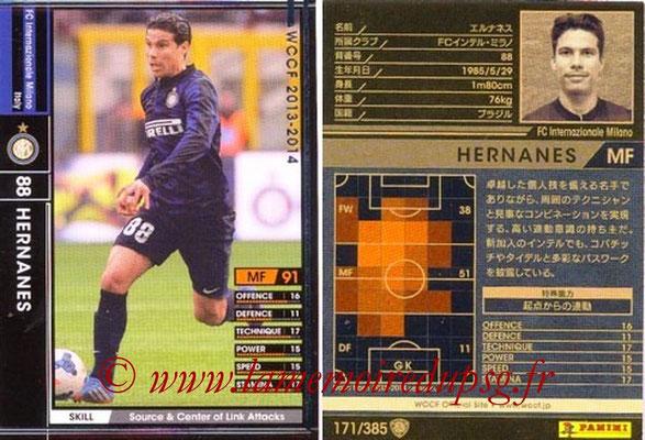 2013-14 - WCCF - N° 171 - HERNANES (Inter Milan)