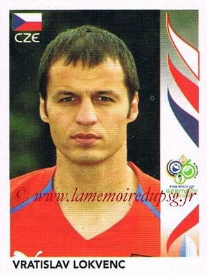 2006 - Panini FIFA World Cup Germany Stickers - N° 377 - Vratislav LOKVENC (République Tchèque)