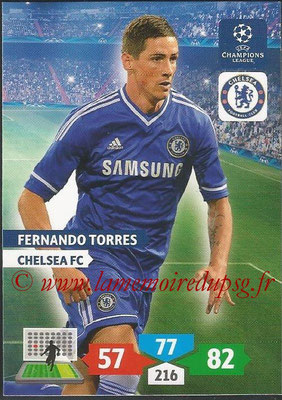 2013-14 - Adrenalyn XL champions League N° 126 - Fernando TORRES (Chelsea FC)