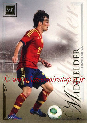 2014 - Futera World Football Unique - N° 059 - David SILVA (Midfielder)