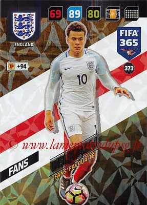 2017-18 - Panini FIFA 365 Cards - N° 373 - Dele ALLI (Angleterre) (Fans' Favourite)