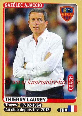 N° 006 - Thierry LAUREY (Août à oct 1990, PSG > 2015-16, entraîneur Gazélec Ajaccio)