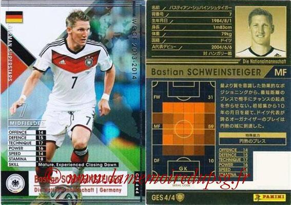 2013-14 - WCCF - N° GES4 - Bastian SCHWEINSTEIGER (Allemagne) (German Superstars)