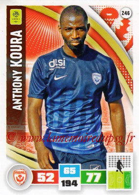2016-17 - Panini Adrenalyn XL Ligue 1 - N° 246 - Anthony KOURA (Nancy)