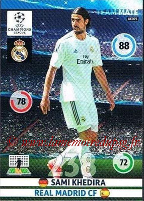 2014-15 - Adrenalyn XL champions League Update edition N° UE075 - Sami KHEDIRA (Real Madrid)