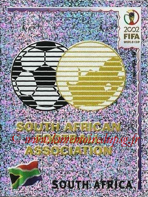 2002 - Panini FIFA World Cup Stickers - N° 152 - Logo Afrique du Sud