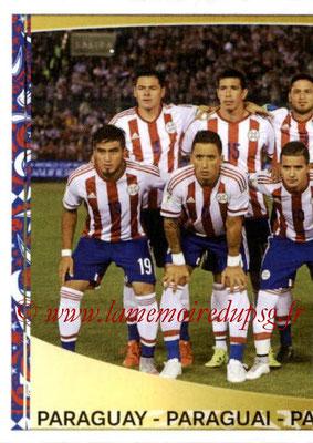 Panini Copa America Centenario USA 2016 Stickers - N° 087 - Equipe Paraguay 1