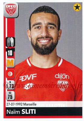 2018-19 - Panini Ligue 1 Stickers - N° 117 - Naïm SLITI (Dijon)