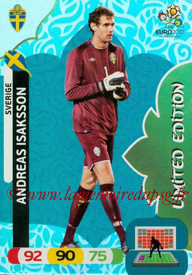 Panini Euro 2012 Cards Adrenalyn XL - N° LE45 - Andreas ISAKSSON (Suède) (Limited Edition)