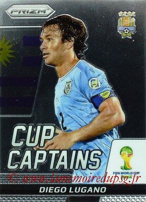 N° CC8 - Diego LUGANO (2011-13, PSG > 2014, Uruguay) (Cup Captain)