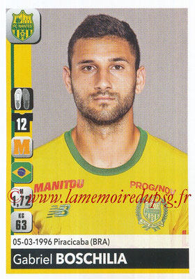 2018-19 - Panini Ligue 1 Stickers - N° 285 - Gabriel BOSCHILIA (Nantes)