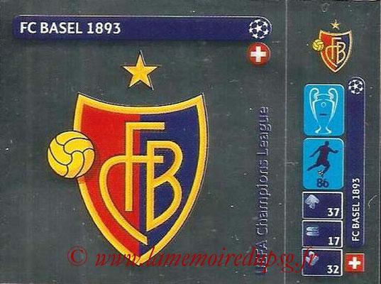 2014-15 - Panini Champions League N° 010 - Logo FC Bale