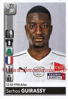 2018-19 - Panini Ligue 1 Stickers - N° T01 - Serhou GUIRASSY (Amiens) (Transfert)