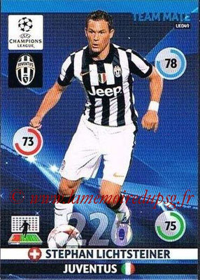 2014-15 - Adrenalyn XL champions League Update edition N° UE049 - Stephan LICHTSTEINER (Juventus FC)