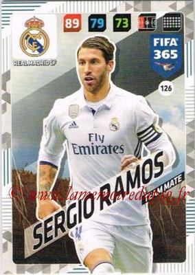 2017-18 - Panini FIFA 365 Cards - N° 126 - Sergio RAMOS (Real Madrid CF)