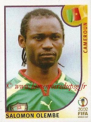 2002 - Panini FIFA World Cup Stickers - N° 377 - Salomon OLEMBE (Cameroun)