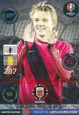 Panini Road to Euro 2016 Cards - N° LE-MO - Martin ODEGAARD (Norvège) (Limited Edition)