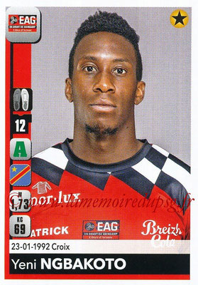 2018-19 - Panini Ligue 1 Stickers - N° 143 - Yeni NGBAKOTO (Guingamp)