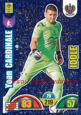 2018-19 - Panini Adrenalyn XL Ligue 1 - N° 382 - Yoan CARDINALE (Nice) (Idole)