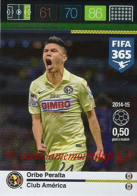 2015-16 - Panini Adrenalyn XL FIFA 365 - N° 178 - Oribe PERALTA (Club América) (Goal Machine)