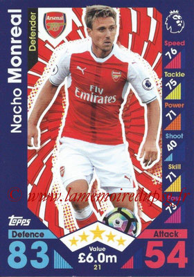 2016-17 - Topps Match Attax Premier League - N° 021