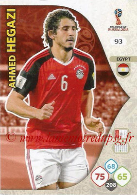2018 - Panini FIFA World Cup Russia Adrenalyn XL - N° 093 - Ahmed HEGAZI (Egypte)