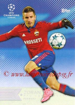2015-16 - Topps UEFA Champions League Showcase Soccer - N° 046 - Zoran TOSIC (CSKA Moscou)