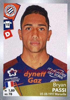 2017-18 - Panini Ligue 1 Stickers - N° T24 - Bryan PASSI (Montpellier) (Transfert)