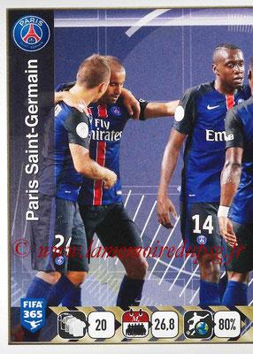2015-16 - Panini FIFA 365 Stickers - N° 447 - Equipe PSG 1