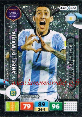 N° ARG06 - Angel DI MARIA (2015-??, PSG > 2017,Argentine) (Game Changer)