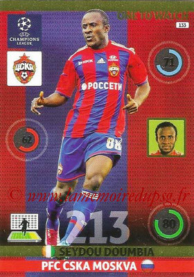 2014-15 - Adrenalyn XL champions League N° 133 - Seydou DOUMBIA (PFC CSKA Moscou) (One to watch)