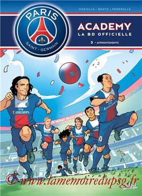 2014-04-16 - PSG Academy, Tome 3 (Soleil, 40 pages)
