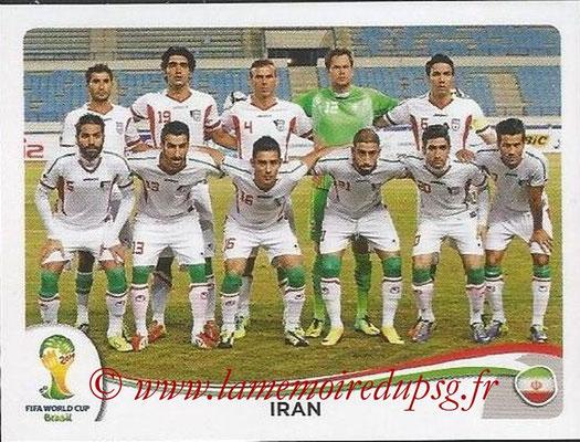 2014 - Panini FIFA World Cup Brazil Stickers - N° 451 - Equipe Iran